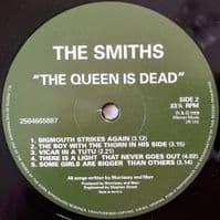 THE SMITHS The Queen Is Dead Vinyl Record LP Warner Music 2012